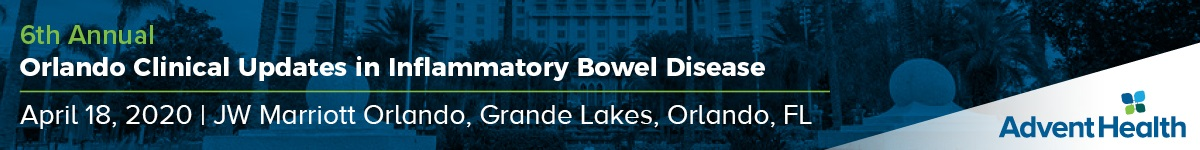 6th Annual Orlando Clinical Updates in Inflammatory Bowel Disease 2020 Banner