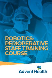 2021 Robotics: Perioperative Staff Training Course Banner