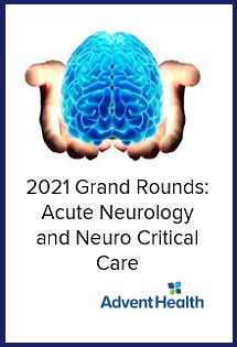 2021 Grand Rounds: Acute Neurology and Neuro Critical Care Banner