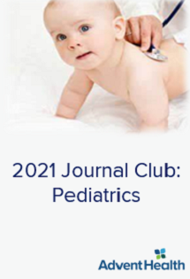 2021 Journal Club: Pediatrics Banner