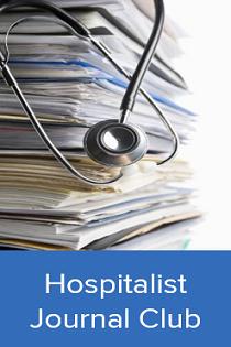 2020 Journal Club: Hospitalists Banner