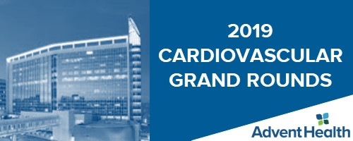 2019 Cardiovascular Grand Rounds Banner