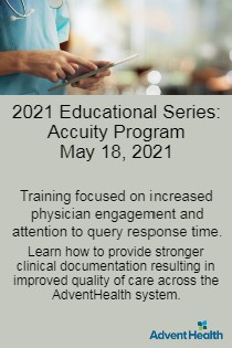 2020 Educational Series: Accuity Program - May 18 Banner