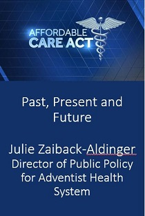 Affordable Care Act:  Past, Present and Future 2017 Banner