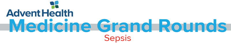 2020 Grand Rounds: Medicine - Sepsis Banner