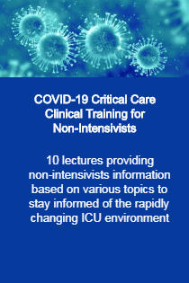 COVID-19: Critical Care Clinical Training for Non-Intensivists Banner