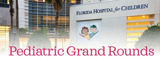 2018 Pediatric Grand Rounds Banner