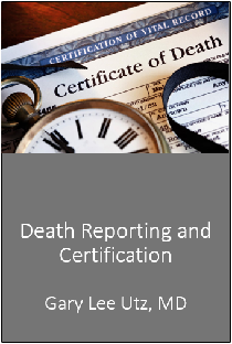 Death Reporting and Certification Banner