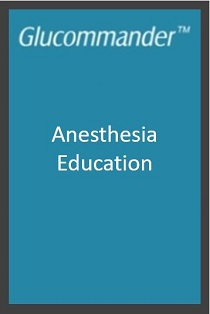 2018 Glucommander Anesthesia Education Banner