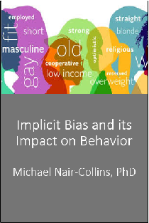 Implicit Bias and its Impact on Behavior Banner