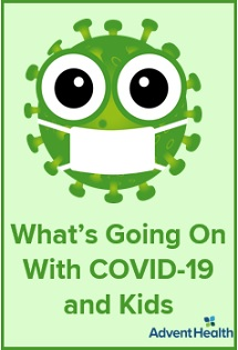 COVID-19: Pediatric Updates - What's Going on With COVID and Kids Banner