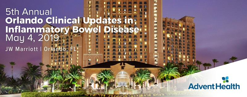 5th Annual Orlando Clinical Updates in Inflammatory Bowel Disease 2019 Banner