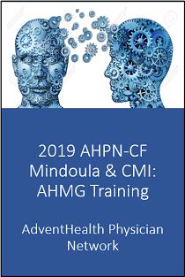 2019 AHPN-CF Mindoula & CMI: AHMG Training Banner