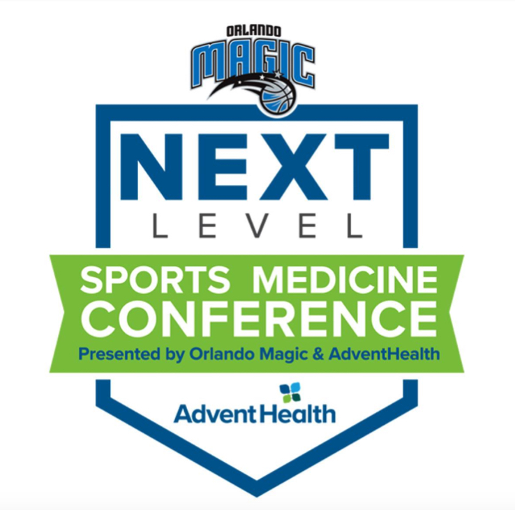 2019 NEXT LEVEL Sports Medicine Conference Presented by Orlando Magic and AdventHealth Banner