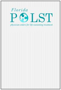 2019 POLST: Physician Orders for Life Sustaining Treatment Banner