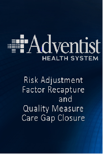 2018 Risk Adjustment Factor Recapture and Quality Measure Care Gap Closure Banner