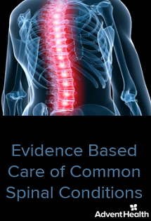 2020 Evidence Based Care of Common Spinal Conditions Banner